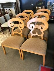 Lorts Furniture Maple Dining Chairs