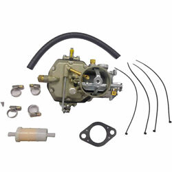 Replace Autolite 1100 Carburetor Fits Ford 63-68 Mustang Falcon 6 Cyl 170 200 Ci