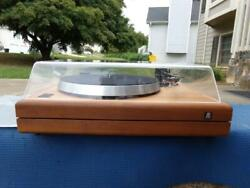 Acoustic Research The Ar Turntable W/ 1200 Premier Mmt Tonearm - Pristine