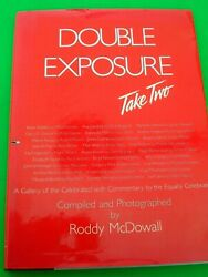 1989 Double Exposure Take Two Signed By Roddy Mcdowall / Janet Leigh / Whoopi