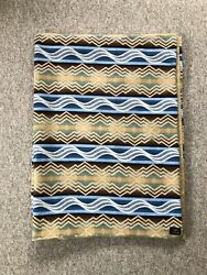 Pendleton X Ugg Wool And Fleece Throw Blanket With Feather Cushion Pillow Set