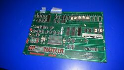 Bally Blue Print Arcade Video Game Complete Pcb Mother Board Logic Board - Clean