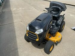 Poulan Pro Pp19a42 Riding Lawn Mower With Bagger