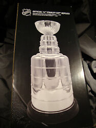 Mario Lemieux Hard Sign Hall Of Fame 1997 Nhl Stanley Cup 14'' Replica