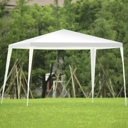 10x10 Ft Outdoor Patio Gazebo Canopy Tent Easy Assembly Wedding Party Gazebos