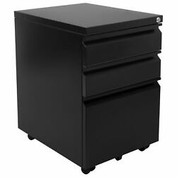 Mount-it Mobile File Cabinet With 3 Drawers