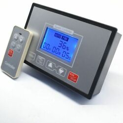 Speed Controller 60a Pwm Dc Motor Timing Reversible Remote Control Lcd Display