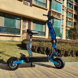 🔥🔥🔥tvictor High Power 60v 11inch 5600w Awd Electric Scooter With Seat