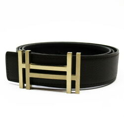 Auth Hermes T 2015 H Au Carre Belt Buckle And Reversible Leather Strap H26749a
