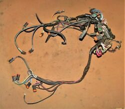 Evinrude 90 Hp V4 Ficht Engine Cable Assembly Pn 0586520 Fits 2000-2001