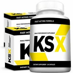 Ksx - Natural Male Booster - New Advanced Male Enhancement Formula - All Natural