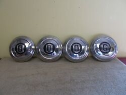 Vintage Original Set Of 4 Oldsmobile Hub Caps Wheel Covers Center Cap Baby Moon