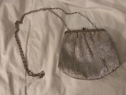 Silver Evening Bag Shoulder Chain by Christine of West Germany $12.99