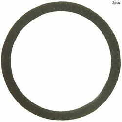 For Pontiac Star Chief Bonneville Center Set Of 2 Air Cleaner Mounting Gasket