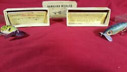 Two Fred Arbogast Jitterbug Lures In/original Box
