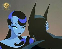 Bruce Timm Rare Inque And Batman Beyond Cel Close Up Disappearing Inque B9 Coa