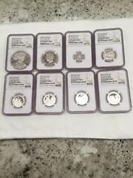2017 Limited Edition Silver Proof Set Ngc 70 Perfect