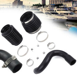 New Water Hose Fit F/ Volvo Penta Aq 280 290 Bellows Kit 875822 And 876294 And876631