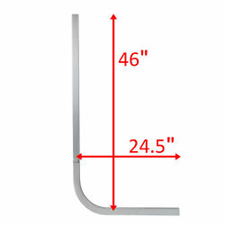 1 Replacement Boat Trailer 1/2 Square 46 Tall Aluminum Guide On Pole