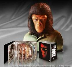 Unused Planet Of The Apes Dvd Collection Box Figure Poster Initial Limited