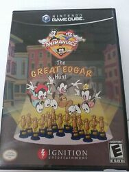 Nintendo Gamecube Animaniacs The Great Edgar Hunt Tested And Working