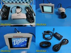 Uro Health Endoview Hand-held Video Endoscope System W/ Monitor/ccd Camera18357
