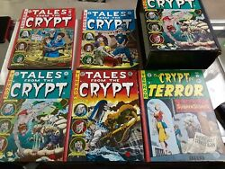 Tales From The Crypt Complete Box Set Ec Comics 5 Book Set Hard To Find Look Wow
