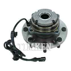 For Ford F-350 Super Duty Front Set Of 2 Wheel Bearing And Hub Assembly Timken