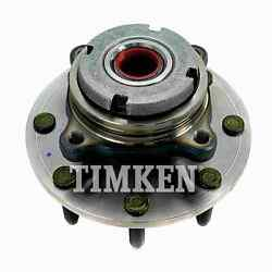 For Ford F-250 Super Duty Front Set Of 2 Wheel Bearing And Hub Assembly Timken