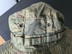 Original Military Hat Of The Polish Army Camouflage Forest