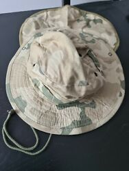 Original Military Hat Of The Polish Army Camouflage Desert