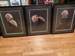 Marilyn Monroe Limited Edition, Numbered Print Series 3 Doug Martindale