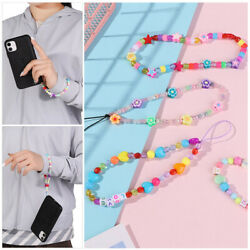 Phone Strap Lanyard Phone Chain Soft Pottery Rope Cell Phone Case Hanging Cord