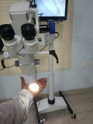 5 Step Surgical Microscope Ent Operating Microscope Wide Range Of Imported Optic