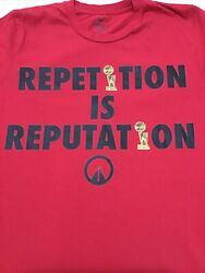Unknwn Lebron James Miami Heat Red Shirt - Reputation Is Repetition Size Medium