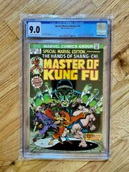 Marvel Special Edition 15 - 1st Appearance Of Shang Chi And Fu Manchu - Cgc 9.0