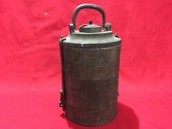 Antique Ottoman Army Food Canteen Container 5 Layers All With Seals Tugra Turkey