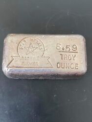 🔥1-5.59 Rare Vintage Star Metals 999 Silver Bar Collectible Gift Invest🔥