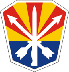 Official Us Army Arizona National Guard Decal
