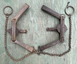 Vintage Newhouse Traps 3 And 4 Trap