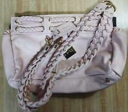 Miche Luxe Hilton Classic Shell Pink Rose Matching Handles New