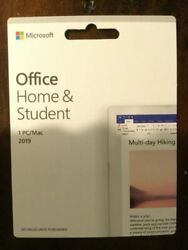 Microsoft Office Home And Student 2019   1 Device Windows 10 Pc/mac