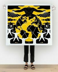 Cleon Peterson It's Mine Signed And Numbered Large Format Limited Edition Pint