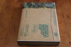 Vintage Sears Roebuck And Co. Spring Summer 1979 Catalog Eastern Mailing Sleeve