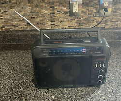 General Electric GE Superadio Super Radio Wide Band Long Range 7 2887A tested