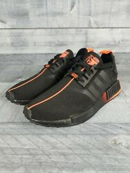 Mens Adidas Nmd_r1 Star Wars Darth Vadar Sneakers Fw2282-shoes-size 7
