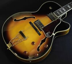 Epiphone Joe Pass Emperor Ii / Vs Full Acoustic Electric Guitar W/ Sc