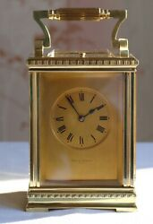 Aird And Thomson Carriage Clock