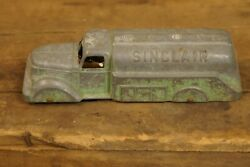 Tootsie Toy Sinclair Tanker Toy Truck Chippy Parts Toy Missing A Wheel