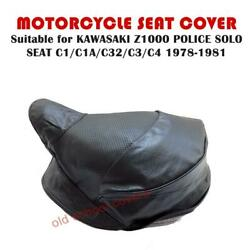 Motorcycle Seat Cover For Z1000 Kz1000 Police C1 C1a C2 C3 C4 Kawasaki 1978-1981